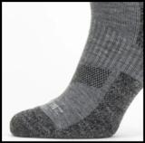 Sealskinz Solo QuickDry Ankle Length Socks Grijs 39-42