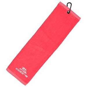 Cobra Tri Fold Golf Handdoek Pink