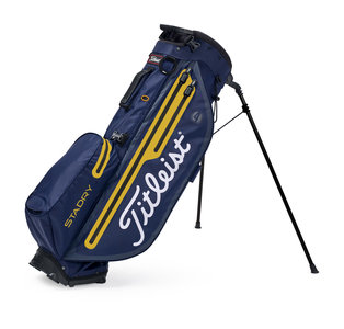 Titleist Players 4 Plus Stadry Standbag Navy Gold Limited Edition
