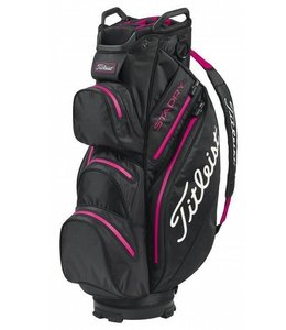 Titleist Cartbag StaDry Deluxe Black Pink