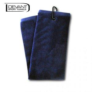 Devant Velour Handdoek Navy