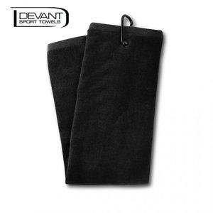 Devant Velour Handdoek Black