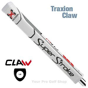 Super Stroke Traxion Claw 2.0 Wit Rood