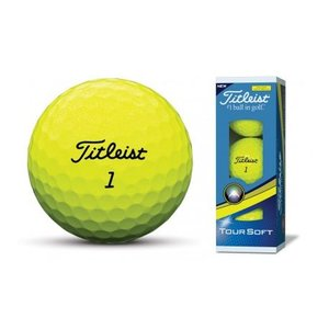 Titleist Tour Soft Geel Sleeve
