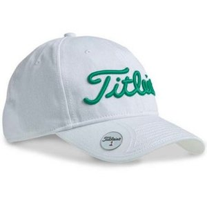 Titleist Ball Marker Cap Wit Groen