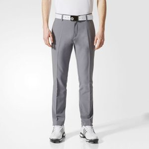 Adidas Tapered Fit Stretch 3-stripes Donker Grijs