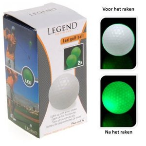 Legend Led Golfballen