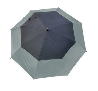 Masters UV Storm Paraplu Charcoal / Jet Black