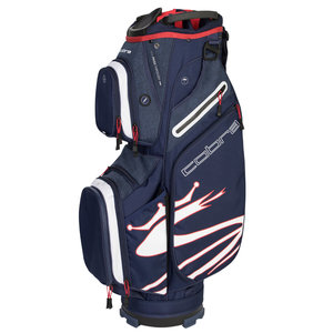 Cobra Ultralight Cartbag Blue Red