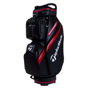Taylormade Deluxe Cartbag Black Red
