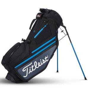 Titleist Hybrid 5 Standbag Black Charcoal Blue