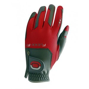 Zoom Flexx Fit Heren Golf Handschoen Charcoal Red