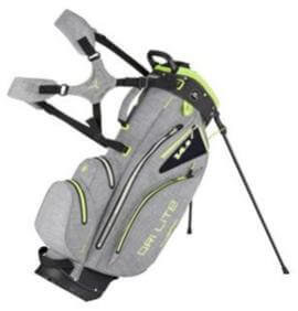 Big Max Dri Lite Hybrid Standbag Charcoal Lime