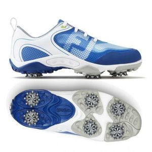 Footjoy Junior Hyperflex golfschoenen Wit Blauw