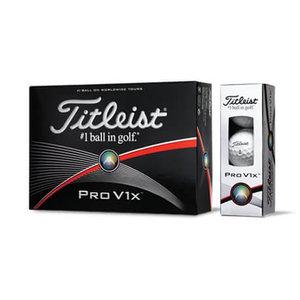 Titleist Pro V1X Golfballen wit