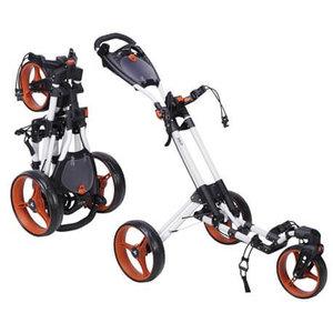 Fastfold 360 Golftrolley Wit Oranje