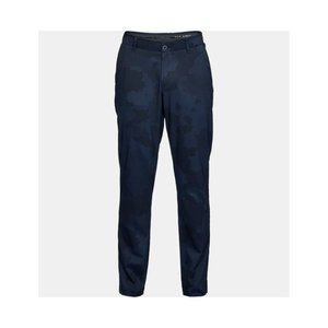 UA ShowDown Camo Tapered Broek Navy