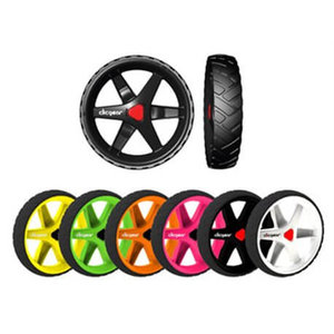 Clicgear 3.5 complete set wielen