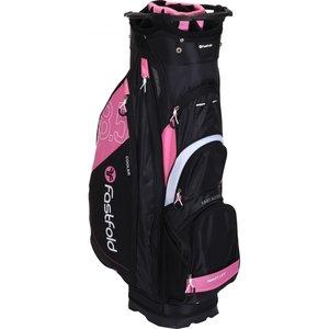 Fastfold Cartbag 8.5 Black Pink