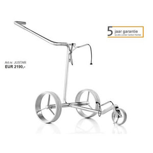 JuStar Carbon Light elektrische golftrolley