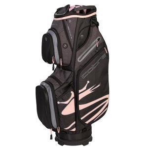 Cobra Ultralight Cartbag Charcoal Pink