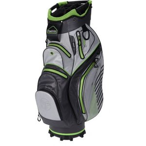 Fastfold C95 Waterdichte Cartbag Charcoal Lime