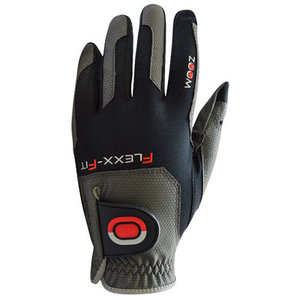 Zoom Flexx Fit Heren Golf Handschoen Zwart