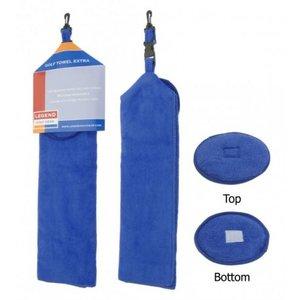 Golf Handdoek Extra Blauw