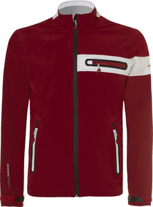 BenRoss X-Tex Stretch Regenjas Rood Wit