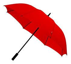 Golf Paraplu Windveer Extra Sterk Rood