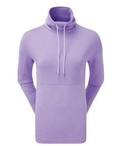 Footjoy Dames Funnel Collar Fleece Golf Sweater