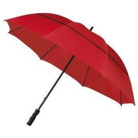 Eco Golf paraplu Stormvast Rood
