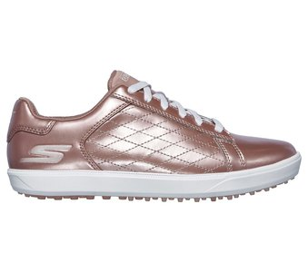 Skechers Go Golf Drive Shine Rose Gold