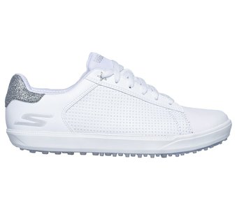 Skechers Go Golf Drive Shimmer Off White