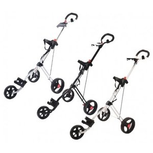 3 wiel Golf trolley inclusief Hedgehog winterbanden