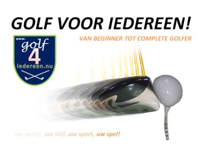 Golf Voor Iedereen Golfboek