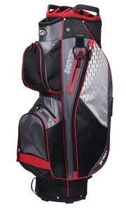 Skymax Driver Cartbag Zwart Rood Charcoal