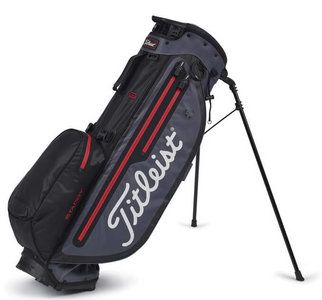 Titleist Players 4 Plus Stadry Standbag Charcoal Red