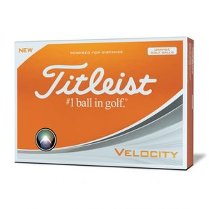 Titleist Velocity Golfballen Oranje