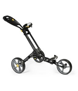 iCart One 3 Wiel Golf Trolley Black Grey