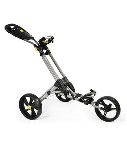 iCart One 3 Wiel Golf Trolley Grey Black