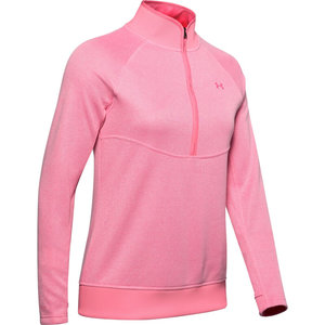 Under Armour Storm Dames Sweater 1/2 Rits Pink
