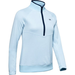 Under Armour Storm Dames Sweater 1/2 Rits Blue