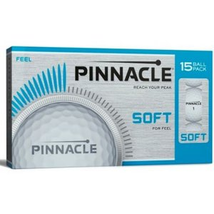 Pinnacle Soft golfballen 15 stuks