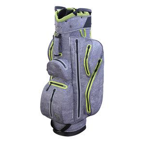 Big Max Aqua Style Cartbag Storm Zilver Lime