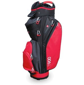 Masters T900 Cartbag Black Red