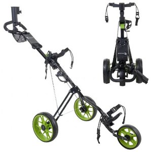 Cougar Track Golf Trolley Zwart Groen
