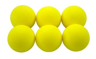 Legend 6 Foam golfballen geel