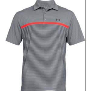 Under Armour HG PlayOff Polo Grey