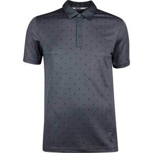 Adidas Golf Pine Core Print Polo Shirt